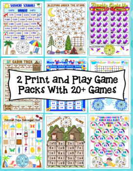 End of the Year Math Mega Bundle: 5th Grade