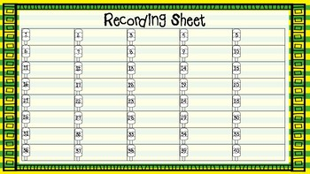 Test Prep Activity Cards