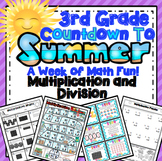 End of the Year Math:  Multiplication and Division Review (3rd Grade)