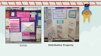 End of the Year Math Poster Project