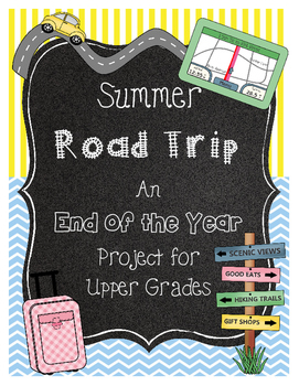 End of the Year Math Project for Upper Grades * Indianapolis
