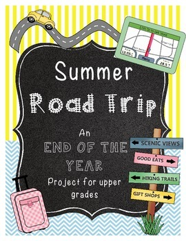 End of the Year Math Project for Upper Grades *LAS VEGAS* (Per Request)