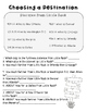 End of the Year Math Project for Upper Grades *Little Rock