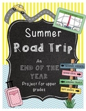 End of the Year Math Project for Upper Grades *Richmond* (Per Request)