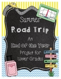 End of the Year Math Project for Upper Grades *Road Trip* Boston Version