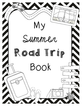 End of the Year Math Project for Upper Grades *Road Trip Jacksonville, FL