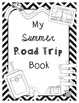 End of the Year Math Project for Upper Grades *Road Trip* Sacramento Version