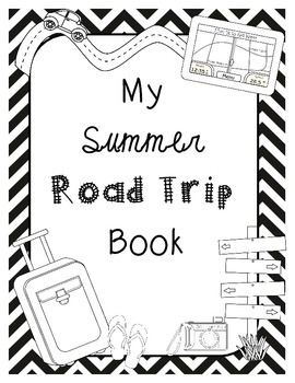 End of the Year Math Project for Upper Grades *Road Trip* Salina Version