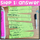 3rd Grade Math Review | End of Year Math Puzzles | Cut and Paste Option