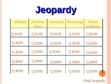 End of the Year Math Review Jeopardy