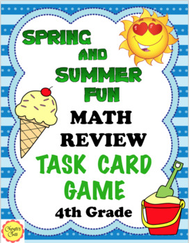 End of the Year Math Review: Spring and Summer Practice: 4th Grade