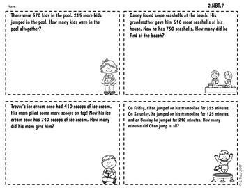 End of the Year Math {Summer Fun} CCSS