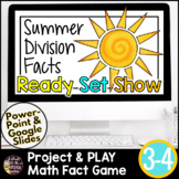 End of the Year Math | Summer Math Activities | Division Game | Division Facts