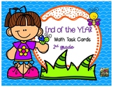End of the Year  Math Task Cards (2nd grade)