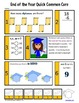 End of the Year Math and Literacy Activities First Grade C