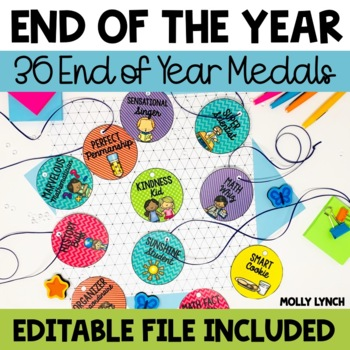 End of the Year Awards Medals