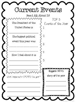 End of the Year Memories & Autographs Packet