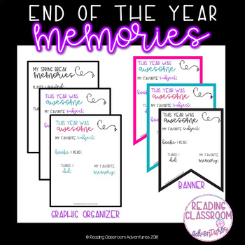 End of the Year Memories Banner