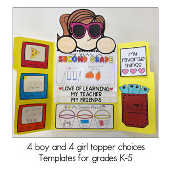 End of the Year Memories Lapbook Project {Grades K-5}