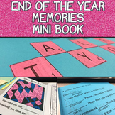 End of the Year Memories Mini Book for 6th, 7th, or 8th Grade