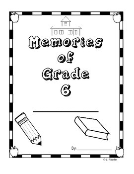 End of the Year Memory Book