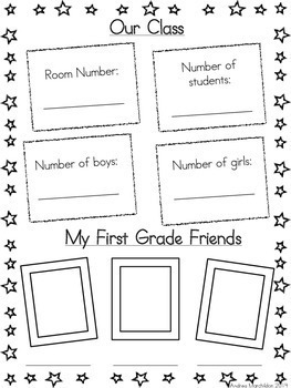 End of the Year Memory Book- 1st Grade