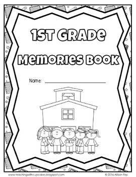 End of the Year Memory Book *Updated 2016* All Grades