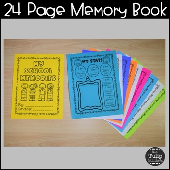 End of the Year Activities {Memory Book}