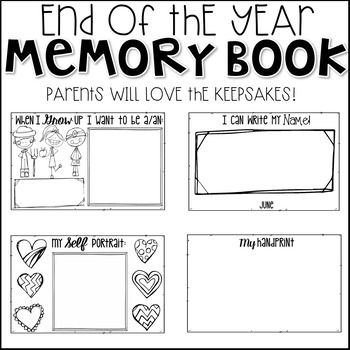 End of the Year Memory Book (Mini)