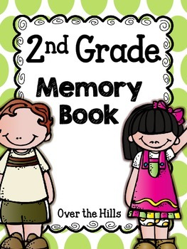 End of the Year Memory Book {2nd Grade}