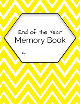 End of the Year Memory Book - 3 Writing Levels