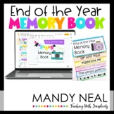 Digital and Printable End of the Year Memory Book