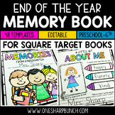 End of the Year Memory Book | Kindergarten Memory Book