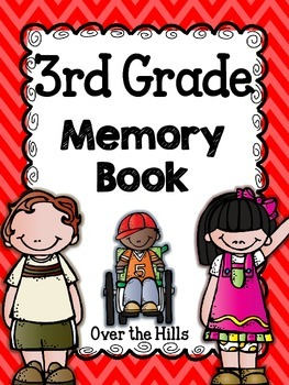 End of the Year Memory Book {3rd Grade}