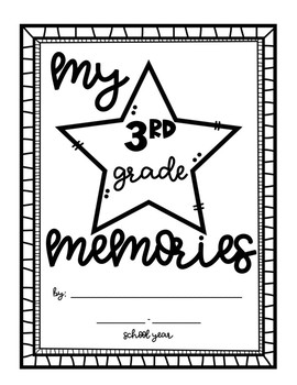 End of the Year Memory Book- 3rd Grade Edition