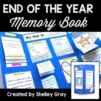 End of the Year Memory Book: A Lapbook for the Last Week of School