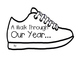 """End of the Year Memory Book-""""A Walk Through Our Year"""""""