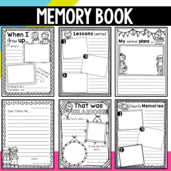 End of the Year Memory Book {A Year of Memories}