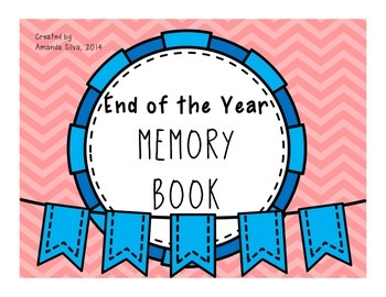 End of the Year Memory Book (ALL elementary grades!)