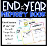 End of the Year Keepsake Memory Book TARGET BOOKS