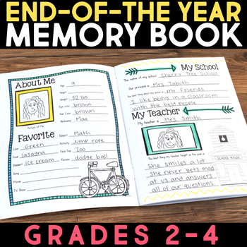 End of the Year Activities & Memory Book