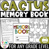 End of the Year Memory Book Activity: Cactus Themed {Grades 3-6}