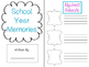 Memory Book {End of Year Writing Activity} *Color*