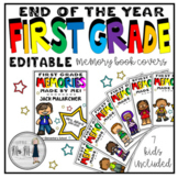 End of the Year Memory Book Covers: First Grade
