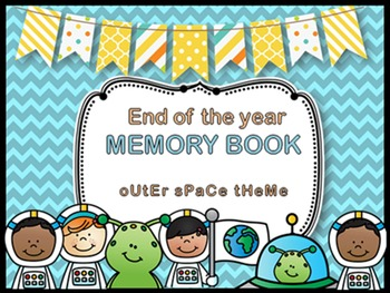 End of the Year Memory Book Craftivity
