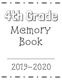 End of the Year Memory Book (EDITABLE FOR ANY GRADE)