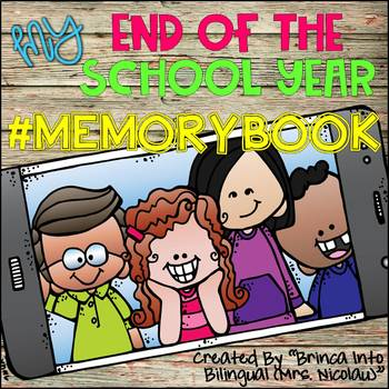 End of the Year Memory Book ENGL