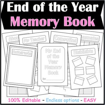 EOY Memory Book (Editable)