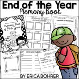 End of the Year Memory Book (PDF) & Google Slides Memory Book