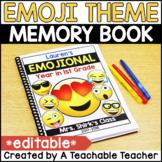 End of the Year Memory Book | Editable Emoji Memory Book